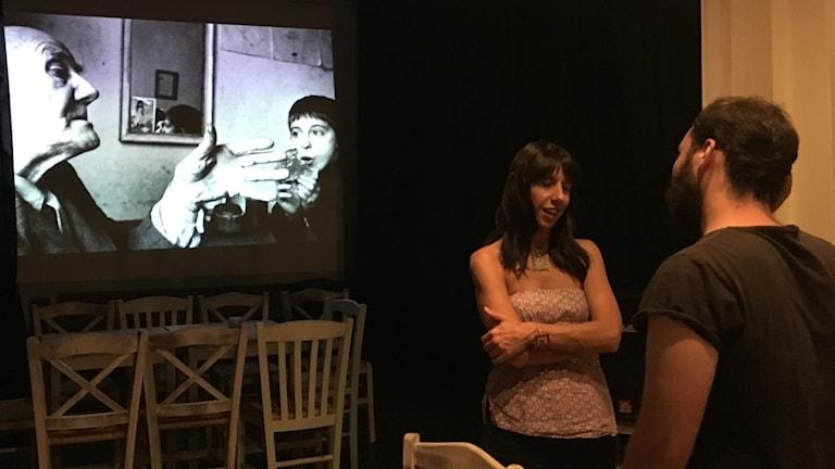 Kulturföreningen Politeia håller kurser och workshops för att bryta känslor av hopplöshet i Aten.