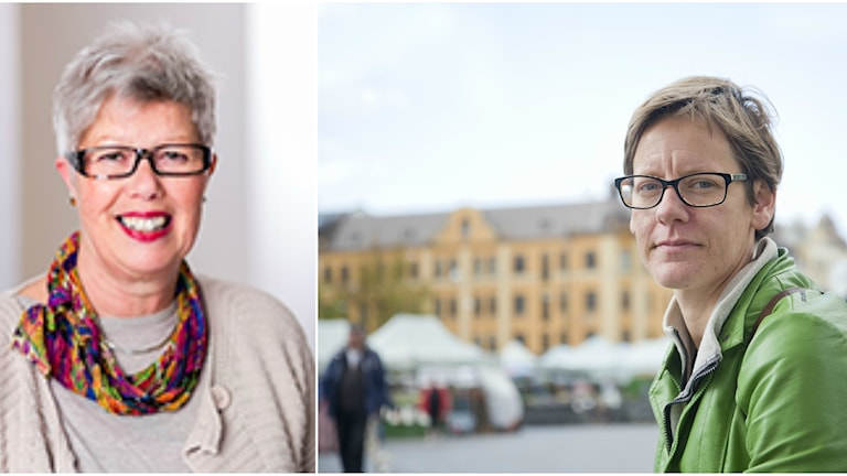 Kulturnämndens ordförande Sylvia Björk (S) och oppositionskommunalråd Hanna Thomé (V), bägge i Malmö.