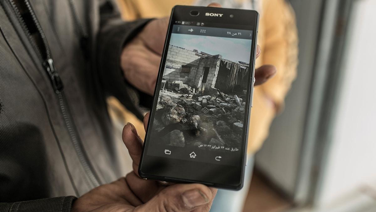 Mobilreparatör Mamun Al-Wadi