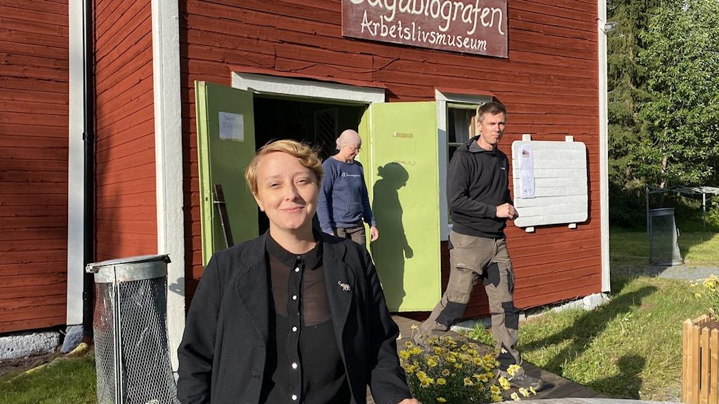 Clara Gustavsson, konstnärlig ledare för Adak Filmfestival.