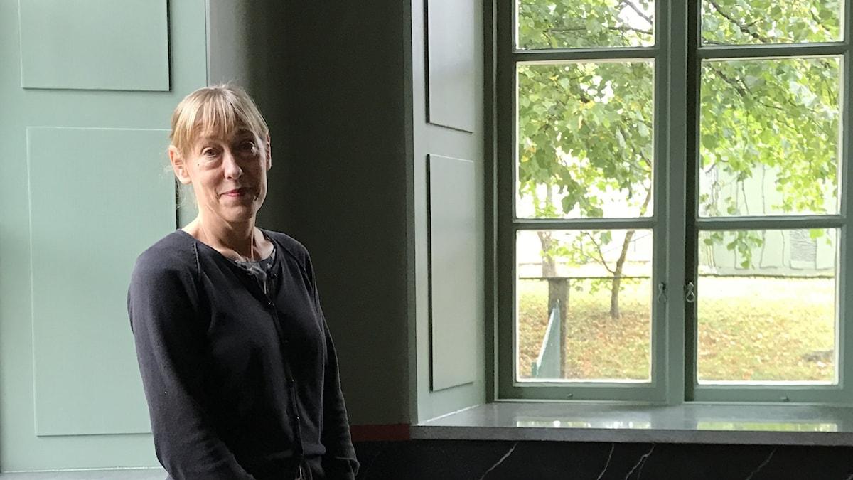 Sölvesborgs kulturchef Sofia Lenninger i Tingshuset