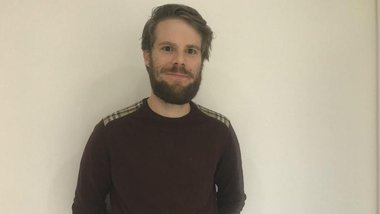 Petter Frizén, utvärderare på Riksantikvarieämbetet.