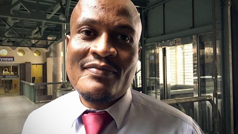 Gift Phiri, nyhetsredaktör på Daily news.