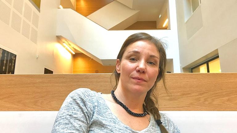 Ljudkonstnären Åsa Stjerna har skrivit en avhandling om ljudkonstens förutsättningar.