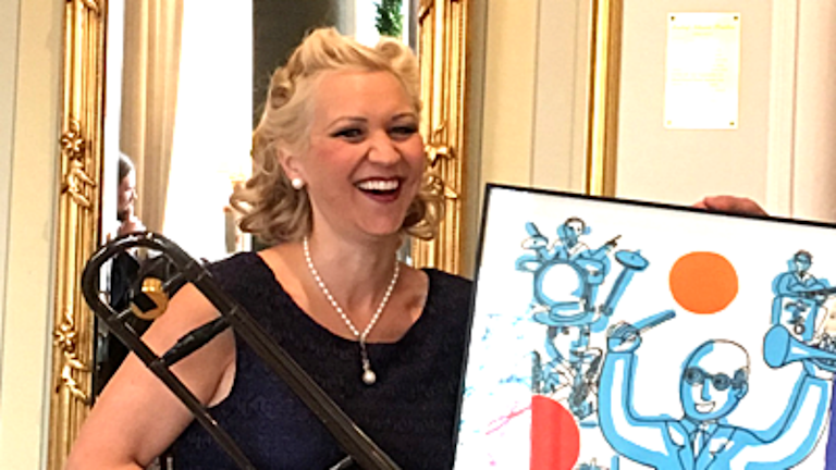 Gunhild Carling får Thore Ehrlingstipendiet 2016.