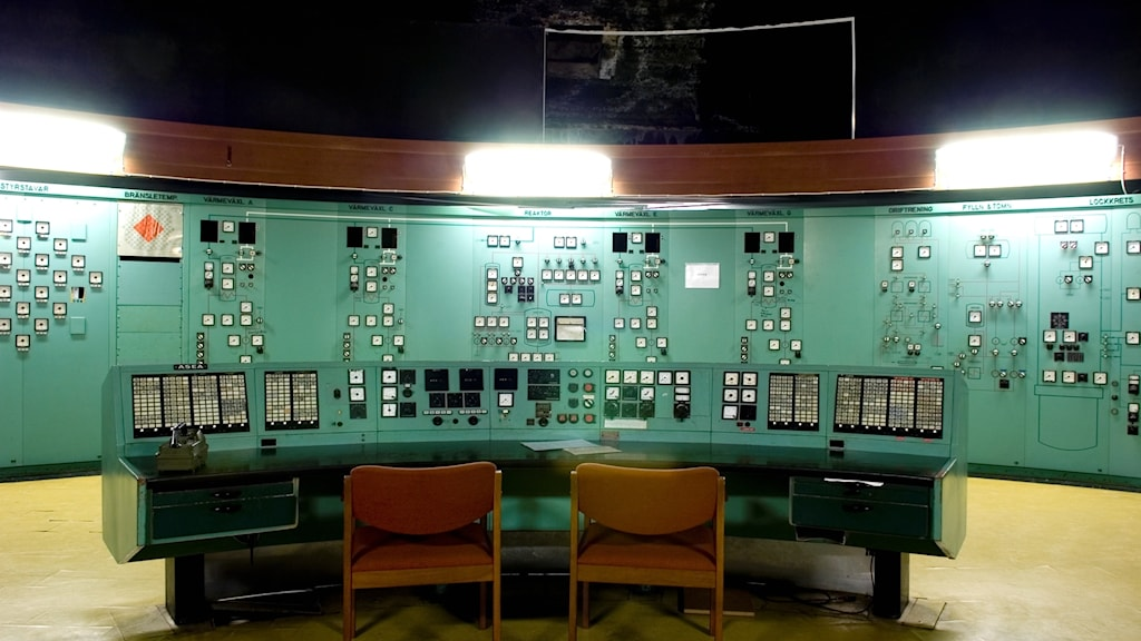 Bilden är från Ågesta kärnkraftverk