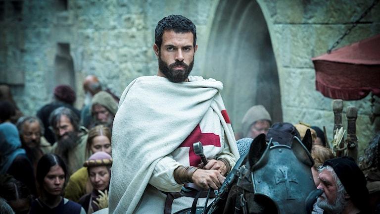 Tom Cullen spelar huvudrollen i nya tv-serien Knightfall