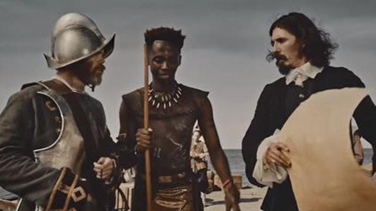 Skärmdump från reklamfilmen från Chicken Licken.