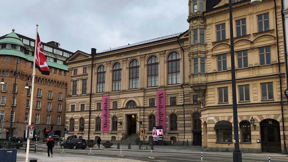 Musikaliska på Nybrokajen 11 och 13, en fastighet som fastighetsverket vill sälja.