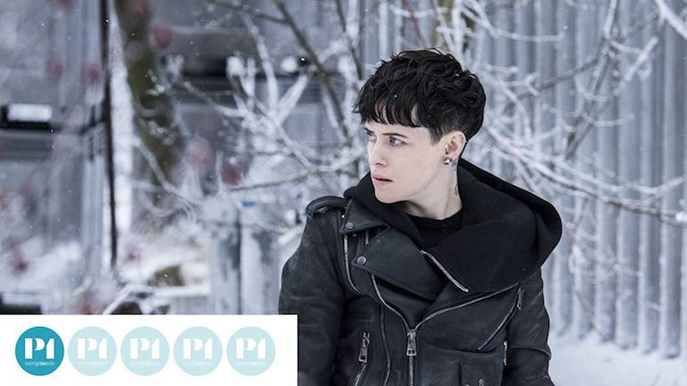 "Claire Foy som Lisbeth Salander i ""The girl in the spider's web""."