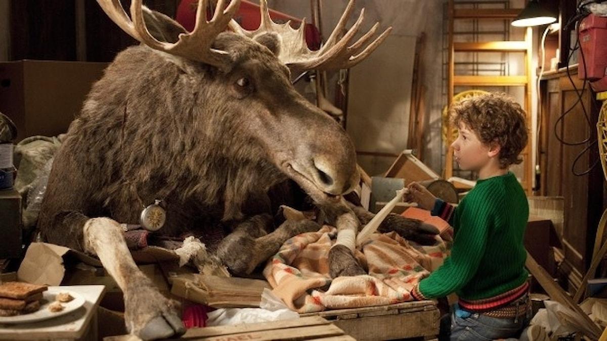 Bilden visar filmen A Christmoose story.