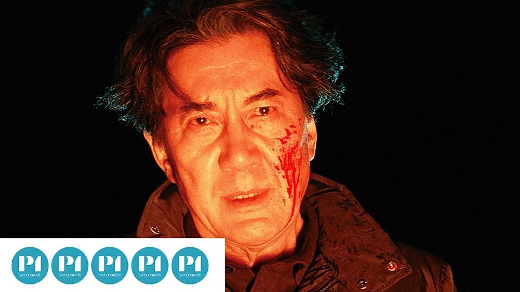 """Misumi på stranden i """"Tredje mordet"""""""