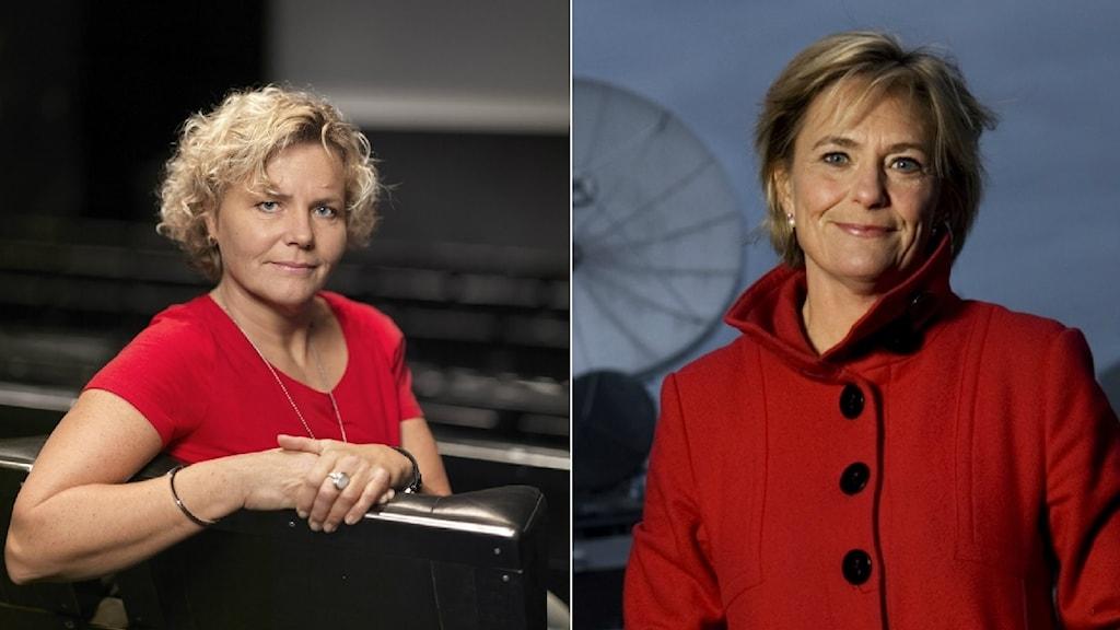 Anna Serner, VD Filminstitutet och Eva Hamilton, ordförande Film & TV-producenterna