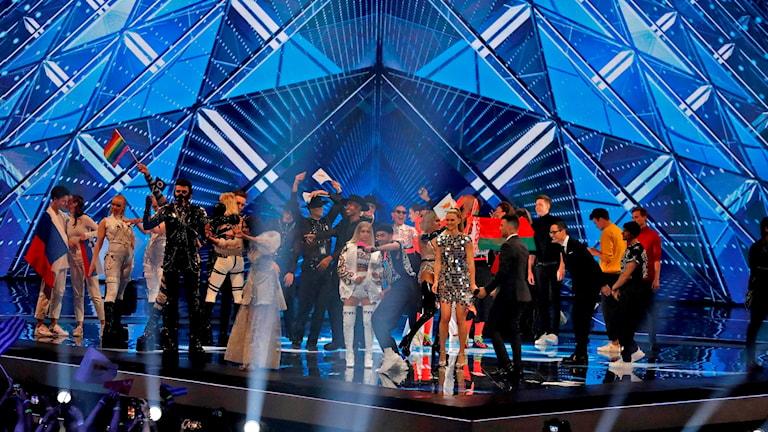 Eurovision semifinal
