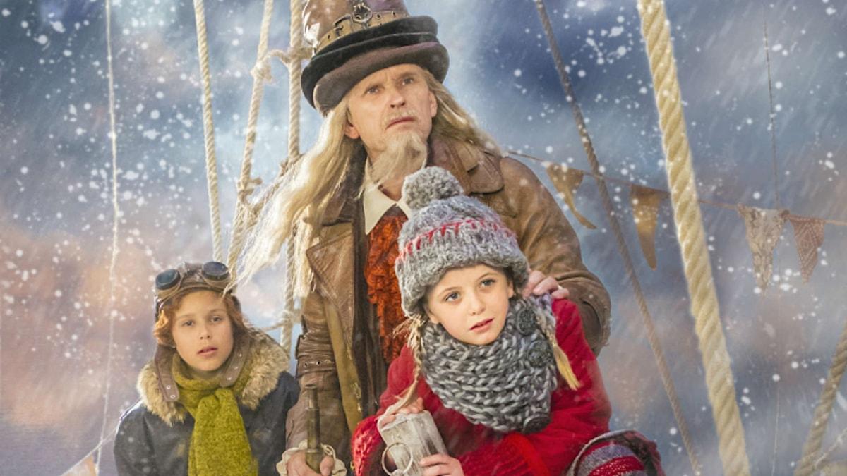 Leo Hellenius som Rupert, Johan Ulveson som Efraim Von Trippelhatt och Ester Vuori som Selma Traskvist.