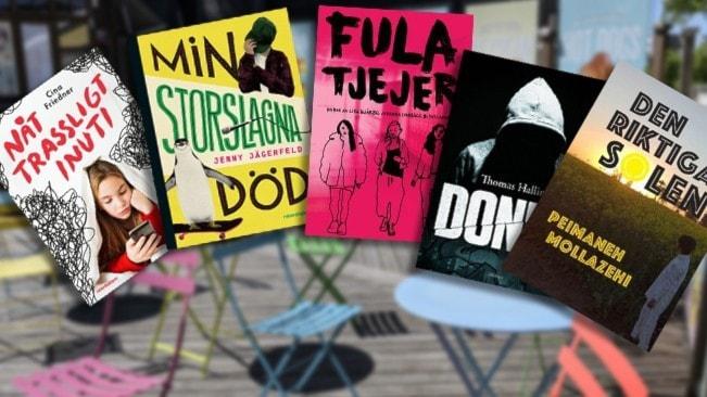 Fem böcker kan vinna Barnradions bokpris