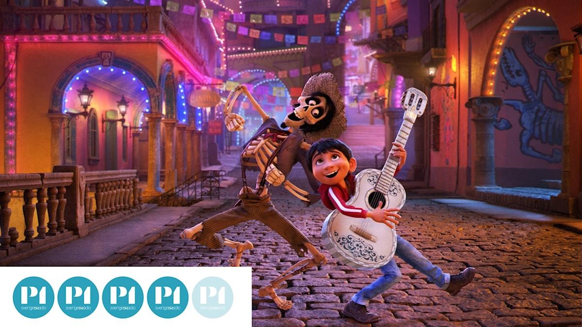"Från filmen ""Coco"". Foto: Disney."