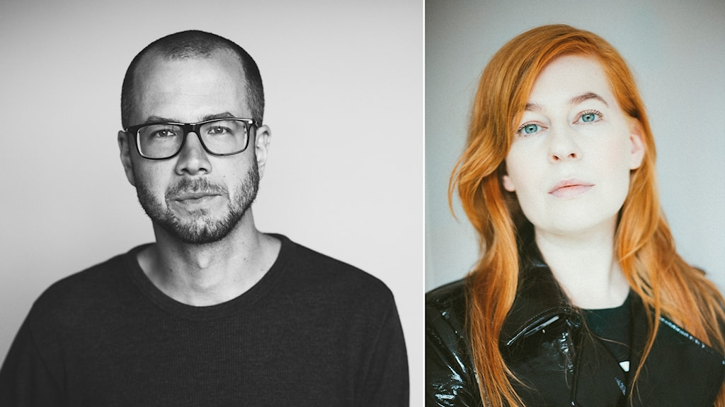 Kalle Hedström Gustafsson och Lina Rydén Reynols.