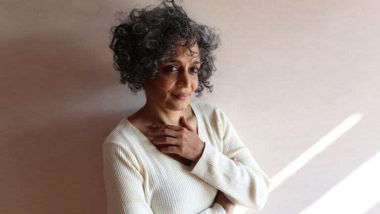 Den indiska författaren Arundhati Roy