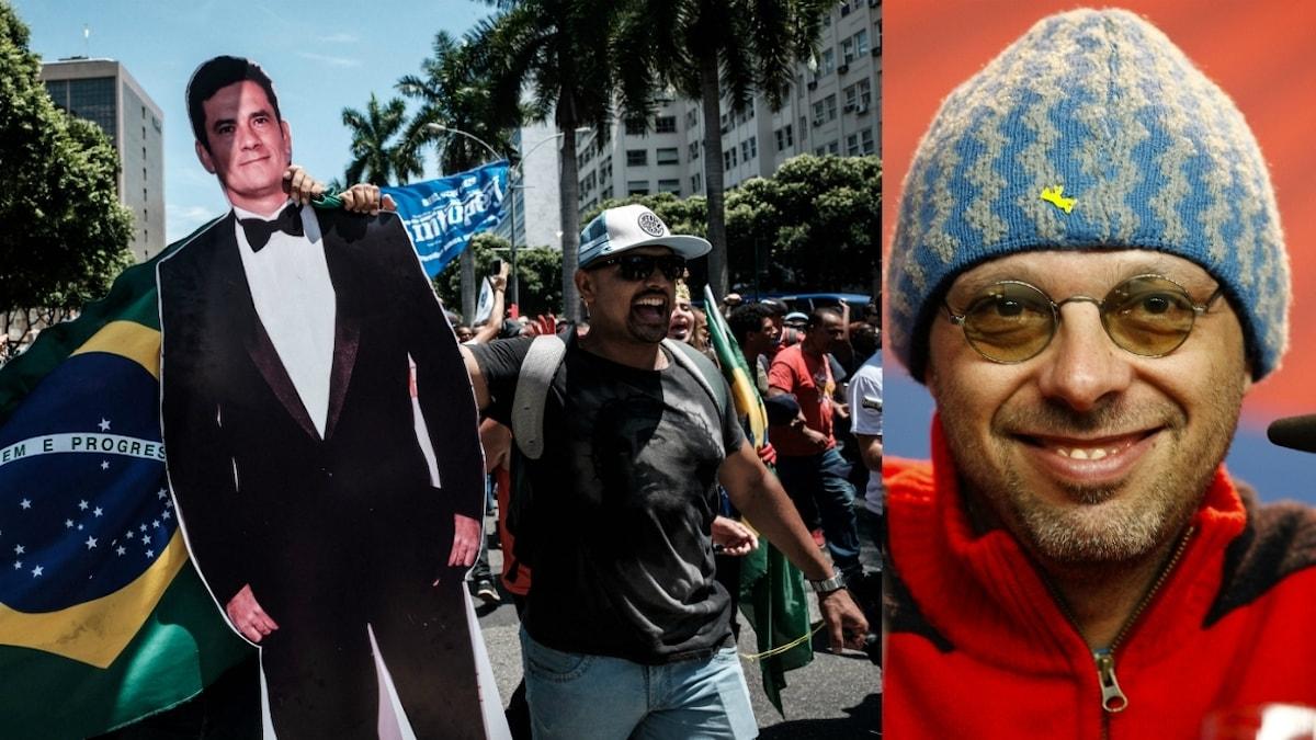 I Brasilien har det varit flera stora protestmarscher mot korruptionsskandalen som José Padilha nu ska göra tv-serie om.