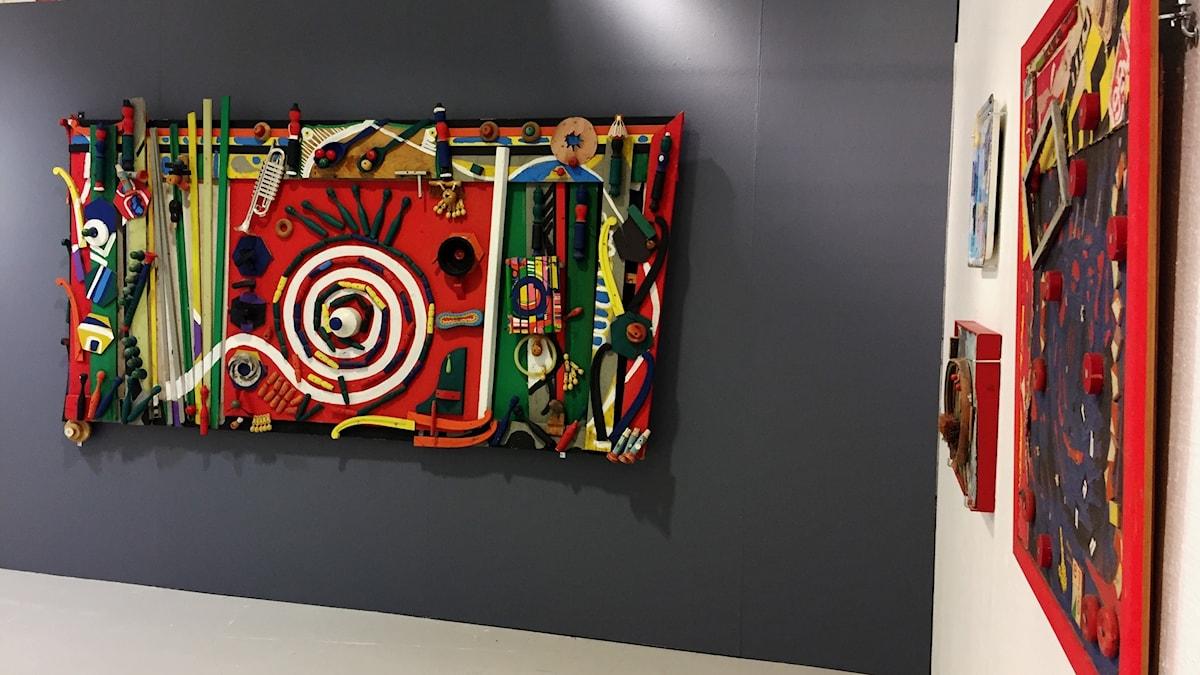 """Utställningen """"Bauhaus Situationisterna - Oenighet ger styrka"""" på Mjellby Konstmuseum"""