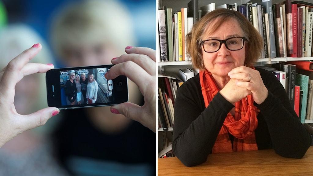 Alla fotar, men hur ska bilderna som tas bevaras? undrar fotohistorikern Eva Dahlman.