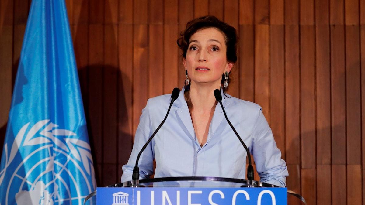 Audrey Azoulay, ny generaldirektör för Unesco.
