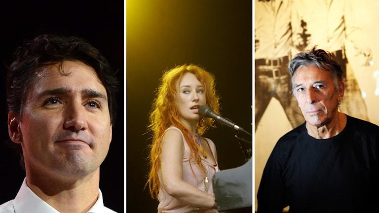 Justin Trudeau, Tori Amos, John Cale minns Cohen