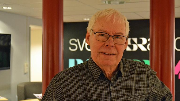 Jazzmusikern Sten Öberg.