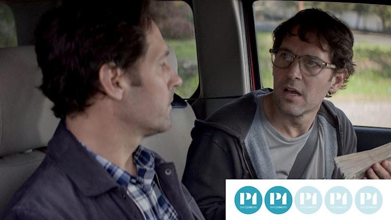 """Paul Rudd spelar två upplagor av samma person i """"Living with yourself""""."""
