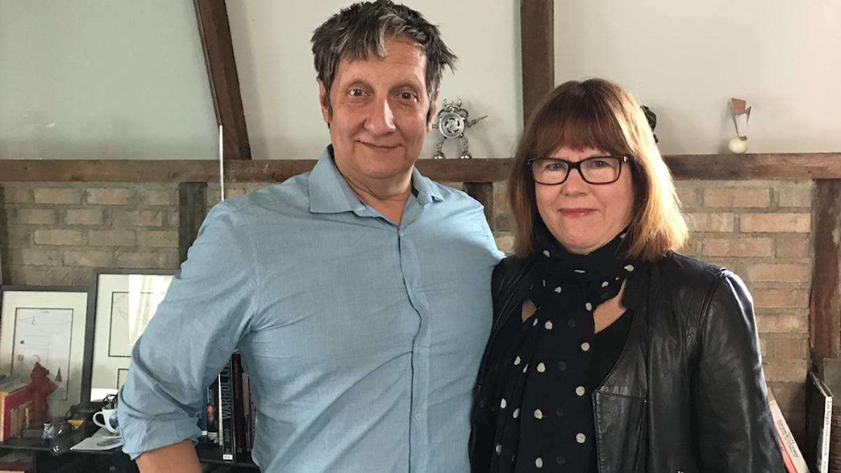 Robert Lepage och P1 Kulturs Kerstin Berggren
