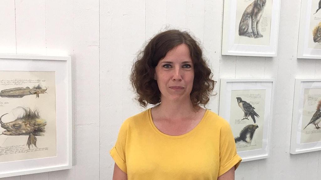 Konstnär Ida Rödén i Konsthall Norra Kvarken