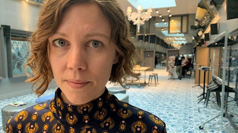 Amanda Kernell på Göteborg filmfestival.