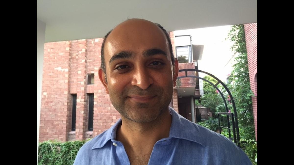 Den pakistanske författaren Mohsin Hamid Foto: Naila Saleem