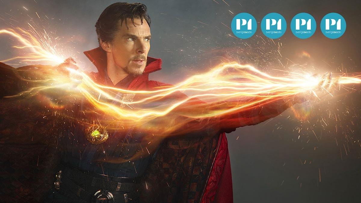 Benedict Cumberbatch i Doctor Strange. Foto: Pressbild