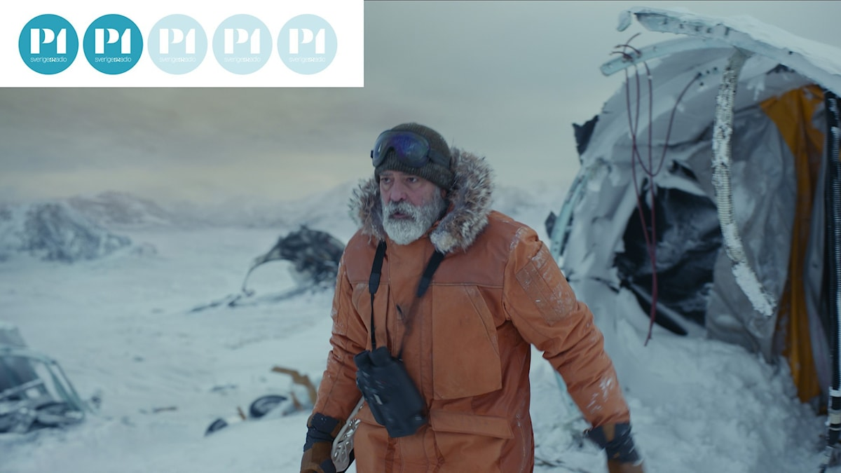 """George Clooney som Augustine i """"The Midnight Sky""""."""