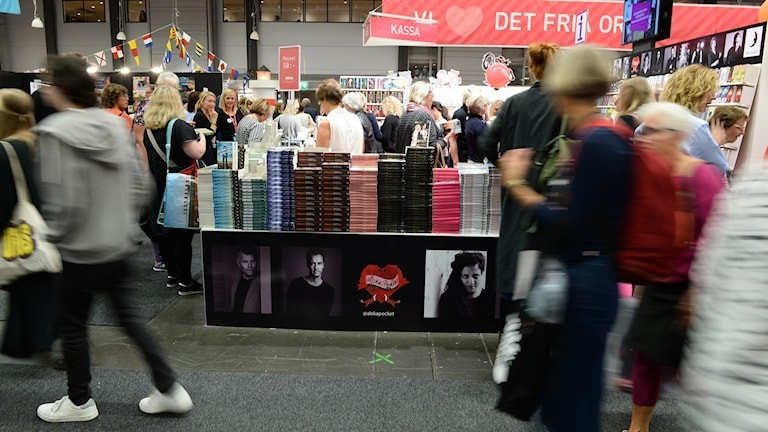 The Gothenburg Book Fair receives around 100000 visitors every year.