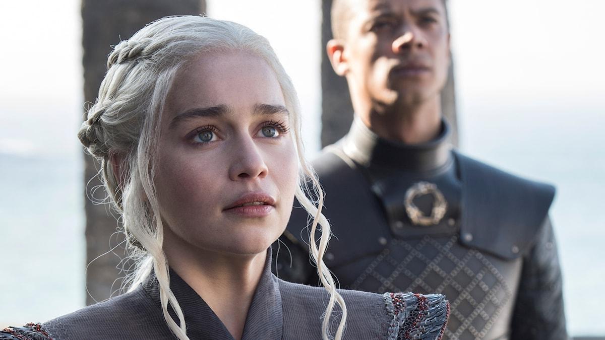 """Daenerys i säsong sju av """"Game of Thrones""""."""