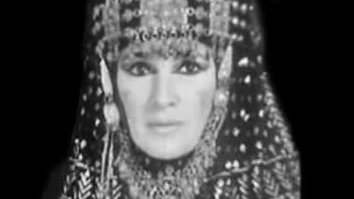 Magdansösen Jamila Salimpour.