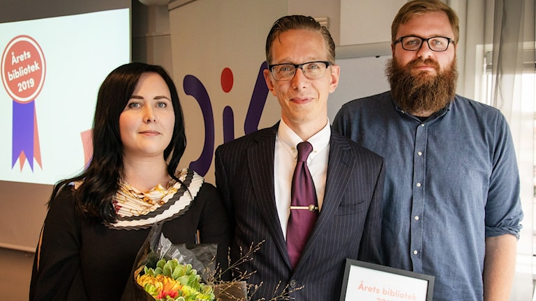 Medieteket på Söderslättsgymnasiet är årets bibliotek