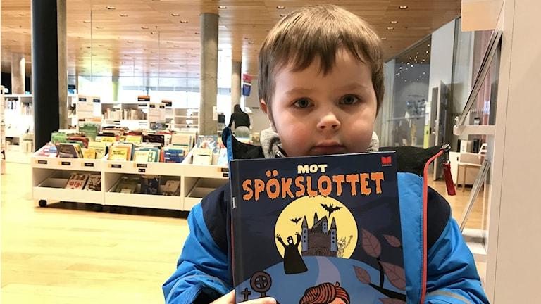 Dante Andersson, 4 år.