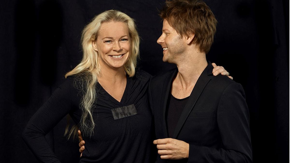 Malena Ernman och Magnus Lindgren.