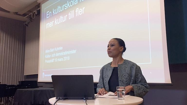 Alice Bah Kuhnke om kulturskolan.