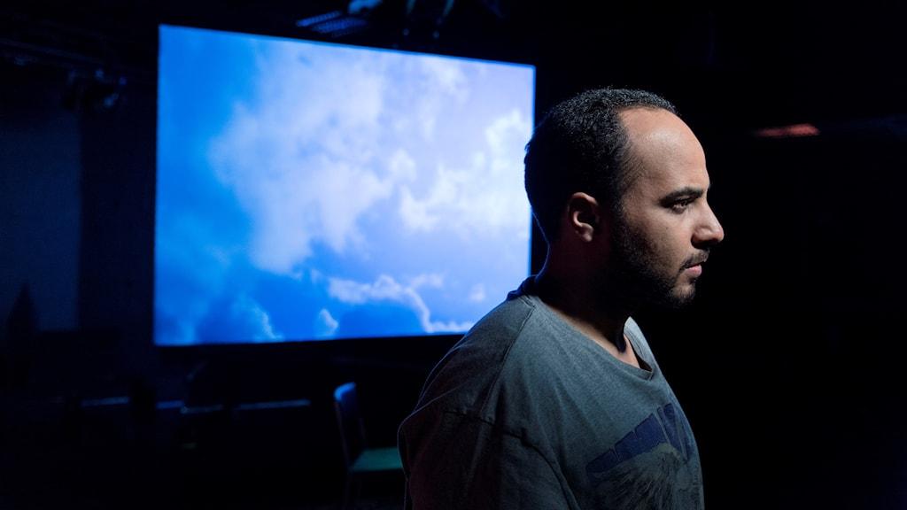 "Magdi Saleh i ""Jihadisten"" på Göteborgs stadsteater."