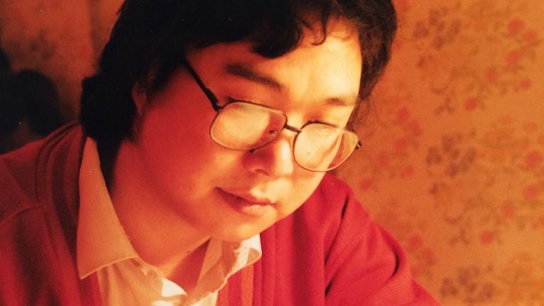 Årets Dawit Isaak-pristagare, fängslade förläggaren och bokhandlaren Gui Minhai. Foto:Privat