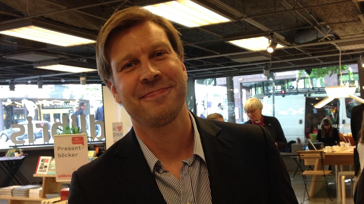 Johan Kollén, Johan Kollén, redaktör för seminarieprogrammet Bokmässan Göteborg.