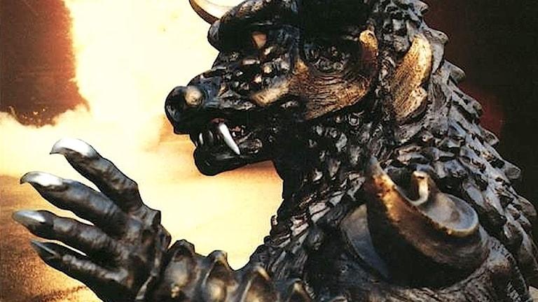 monster i den nordkoreanska filmen Pulgasari.