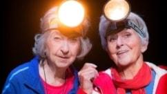 Yvonne Lombard och Meta Velander