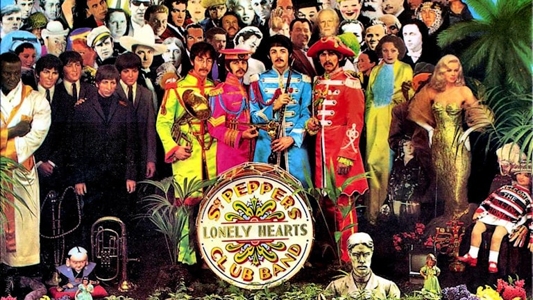 Omslag Sgt Peppers Lonely Hearts Club Band