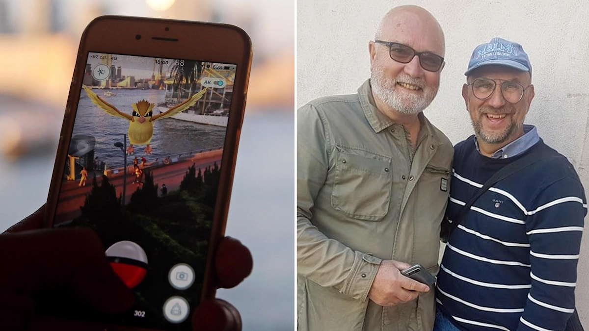 "Jan-Inge Ljungberg och Panayiotis ""Takkis"" Kokkinopanis blev kompisar genom mobilspelet ""Pokémon Go""."